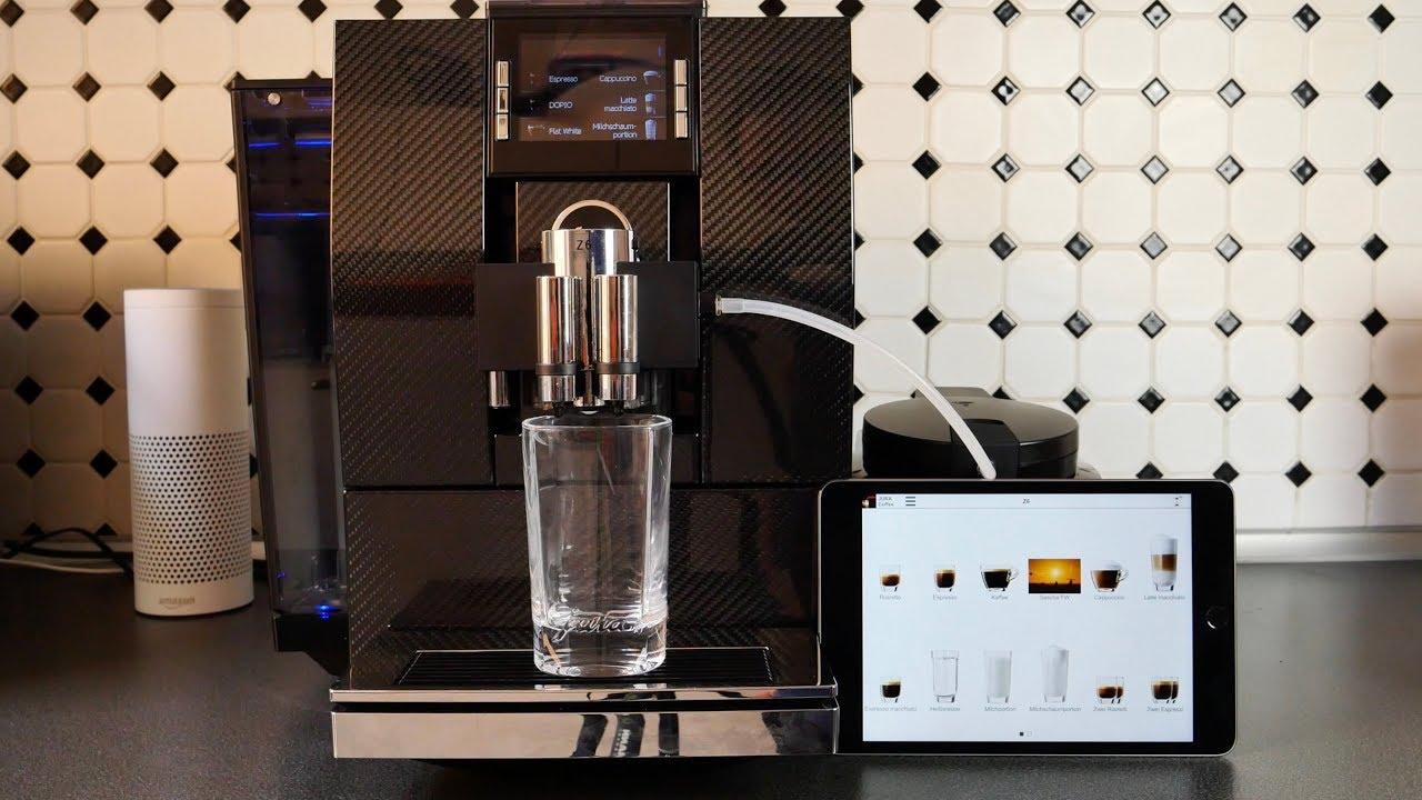 jura smart connect coffe app mit jura z6 test. Black Bedroom Furniture Sets. Home Design Ideas
