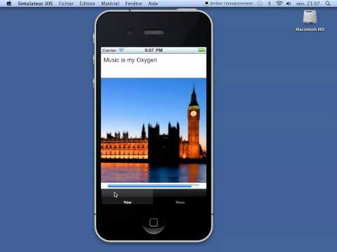 interactive music (player on iphone)