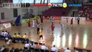 Баскетбол. Иордания - Украина (концовка)