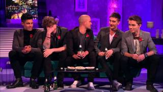 The Wanted - Interview on Alan Carr_ Chatty Man. 9 November 2012