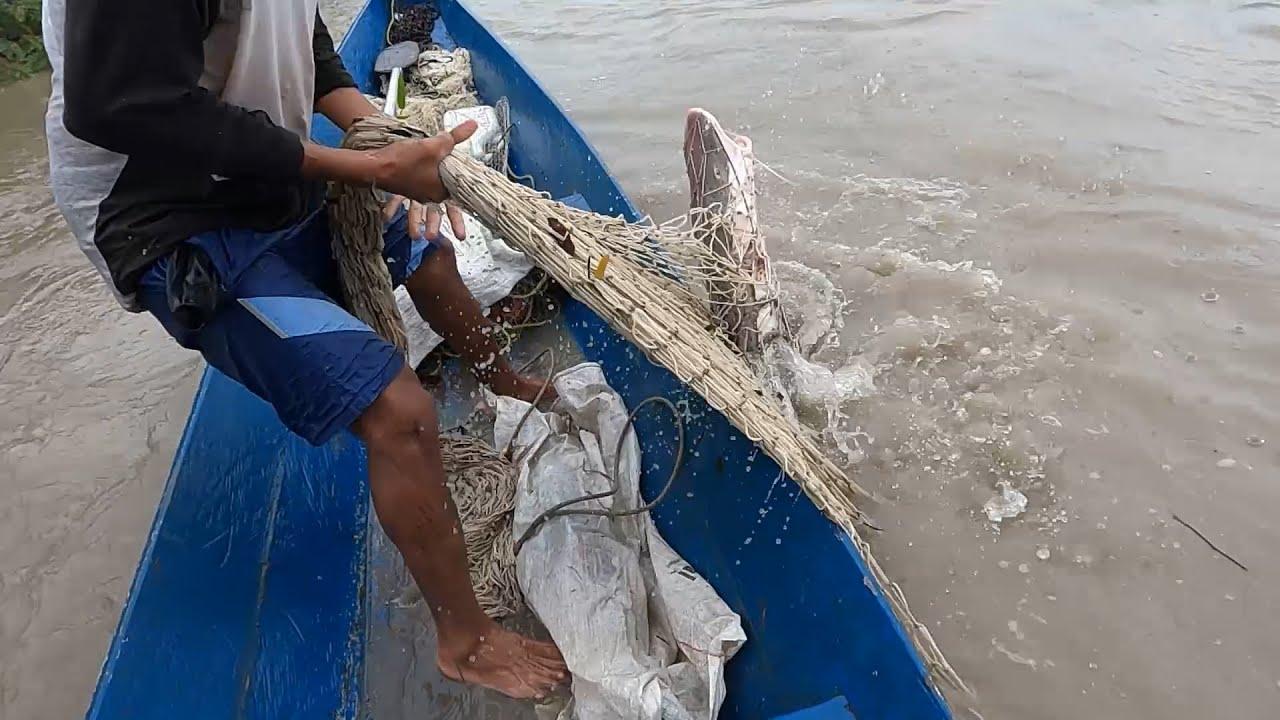 Pesca con Ralera en Invierno ! pesca de Bagres grandes.
