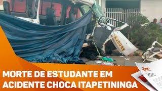 Morte de estudante em acidente choca Itapetininga - TV SOROCABA/SBT