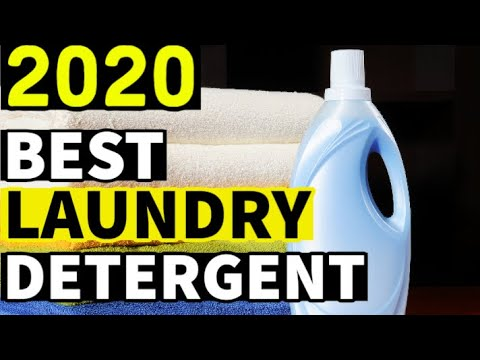 BEST LAUNDRY DETERGENT 2020 - Top 10