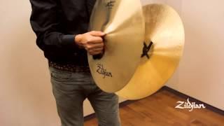 "Zildjian Sound Lab - 18"" A Zildjian Concert Stage, Pair"