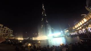 Aguas Danzantes Burj Khalifa / Dubai Mall