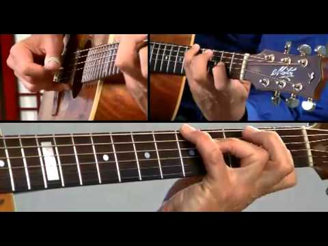 Tommy Emmanuel Guitar Lesson - #8 Borsalino Breakdown 1 - Certified Gems