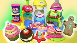 PLAY- DOH ★ Frosting Fun Bakery Playset ★ Sweet Shoppe- PlayDoh PLUS-Hasbro- MsDisneyReviews