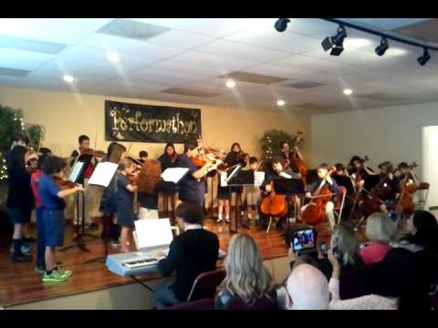 video Performathon 2015 CCSM/Foothill Country Day School string orchestra