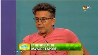 Osvaldo Laport en La mesa está lista
