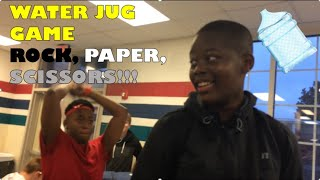 Water Jug Rock, Paper, Scissors Game!