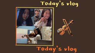 [VLOG] 바이올린 전공생의 일상 브이로그 /향상음학…