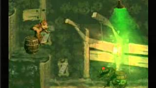 Donkey Kong Country—Stop & Go Station No-Bonus Room Speed Run