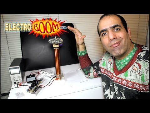 Tesla Coil's Holiday Tunes