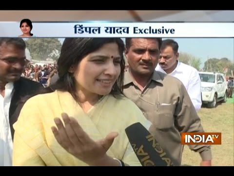 UP Polls: Samajwadi Party is Getting a Good Response from the Public, says Dimple Yadav