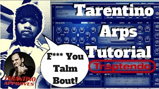How To Make Tarentino Arps in Tone2 ElectraX(free download) | Arpeggio Hacks