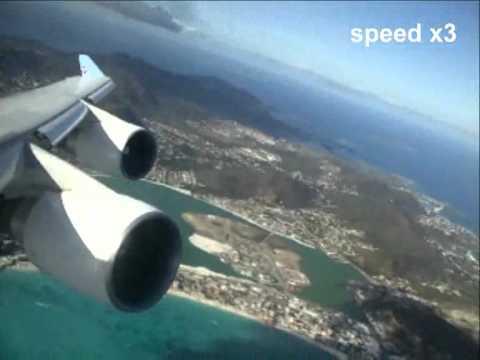 747 corsair paris st martin fort de france youtube for Interieur 747 corsair