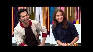 EXCLUSIVE: Varun Dhawan, Anushka Sharma spill the beans about Sui Dhaaga: Made In India