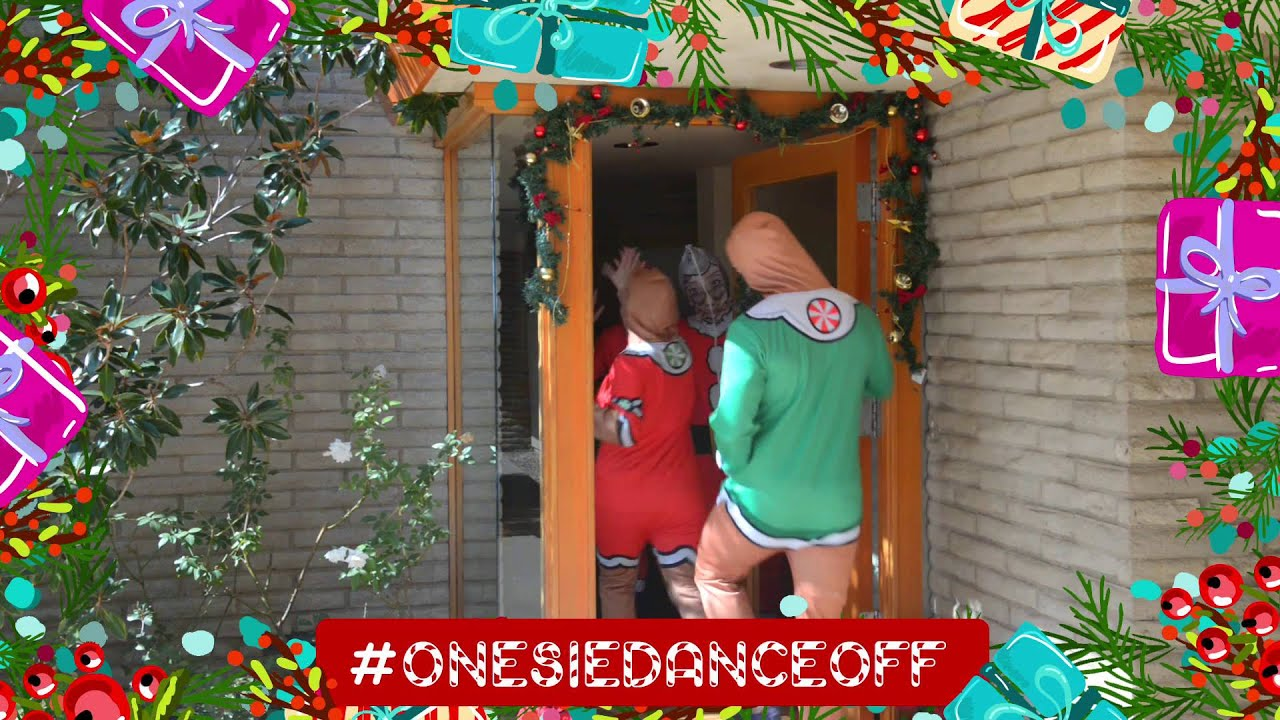 Katy Perry Christmas Onesie Spot: #OnesieDanceOff - YouTube