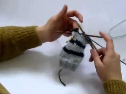 comment tricoter des rayures horizontales