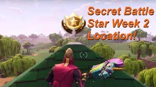 Secret Battle Star Week 2 Location (Road Trip Challenges) - Fortnite Battle Royale Season 5