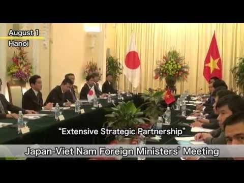 Foreign Minister Kishida Visits Viet Nam
