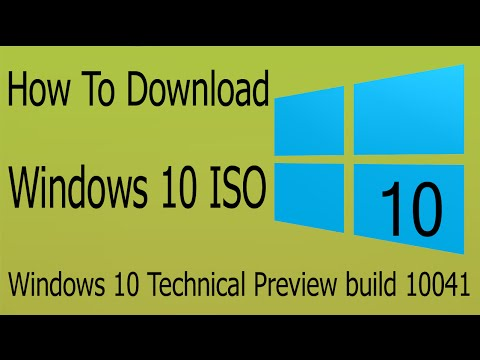 How to download windows 10 technical preview build 10041 iso offline how to download windows 10 technical preview build 10041 iso offline 3264 bit ccuart Images