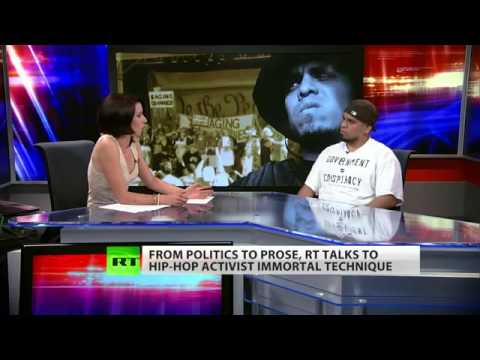 INTERVIEW: Civil Action Activist Hip-Hop Artist Immortal Technique (May 30, 2012)