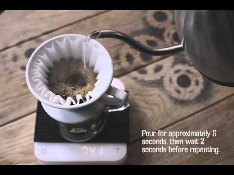 Kalita Wave Brew Guide Youtube