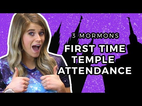 FIRST TIME in a Mormon Temple!