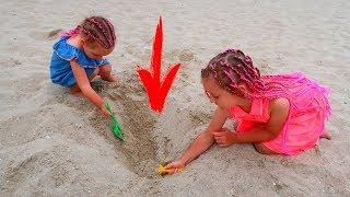 Am Gasit o COMOARA in Nisip pe Plaja! Ultima zi la Mare! Plecam Acasa!