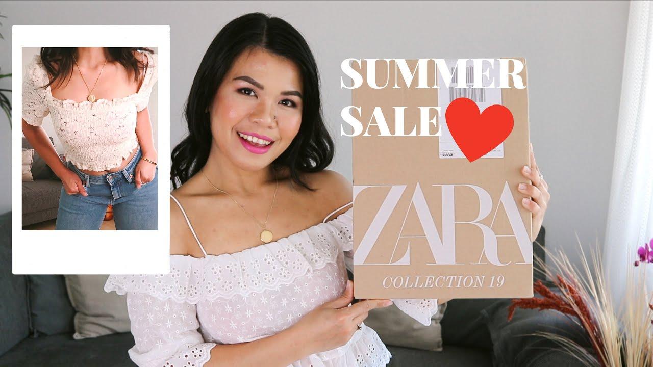 ZARA SALE HAUL AND TRY-ON | SUMMER OUTFIT IDEAS | CAROCEL #zara #zarawoman #zarasale 6