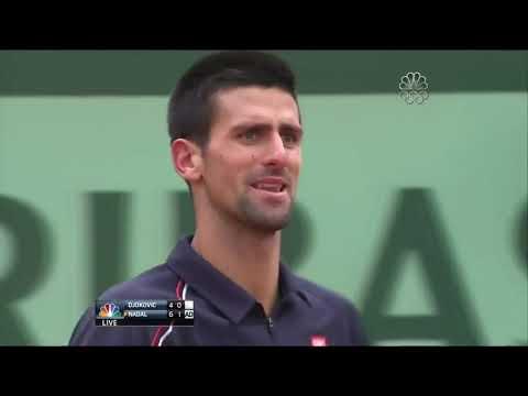 Rafael Nadal Vs Novak Djokovic - Final Roland Garros 2012 Highlights HD