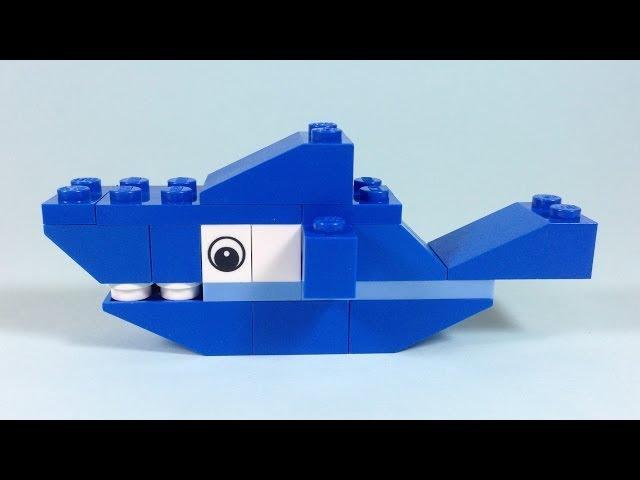 How To Build Lego SHARK - 4628 LEGO® Fun with Bricks Building Ideas for Kids