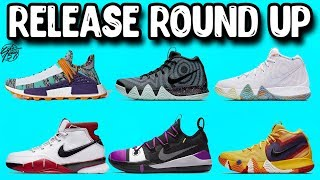 Release Round Up! Shoe Releases for the Rest of August!