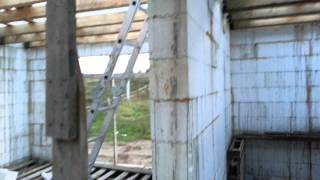 Дом из несъёмной опалубки(Строительство дома из несъёмной опалубки., 2014-09-17T15:52:11.000Z)