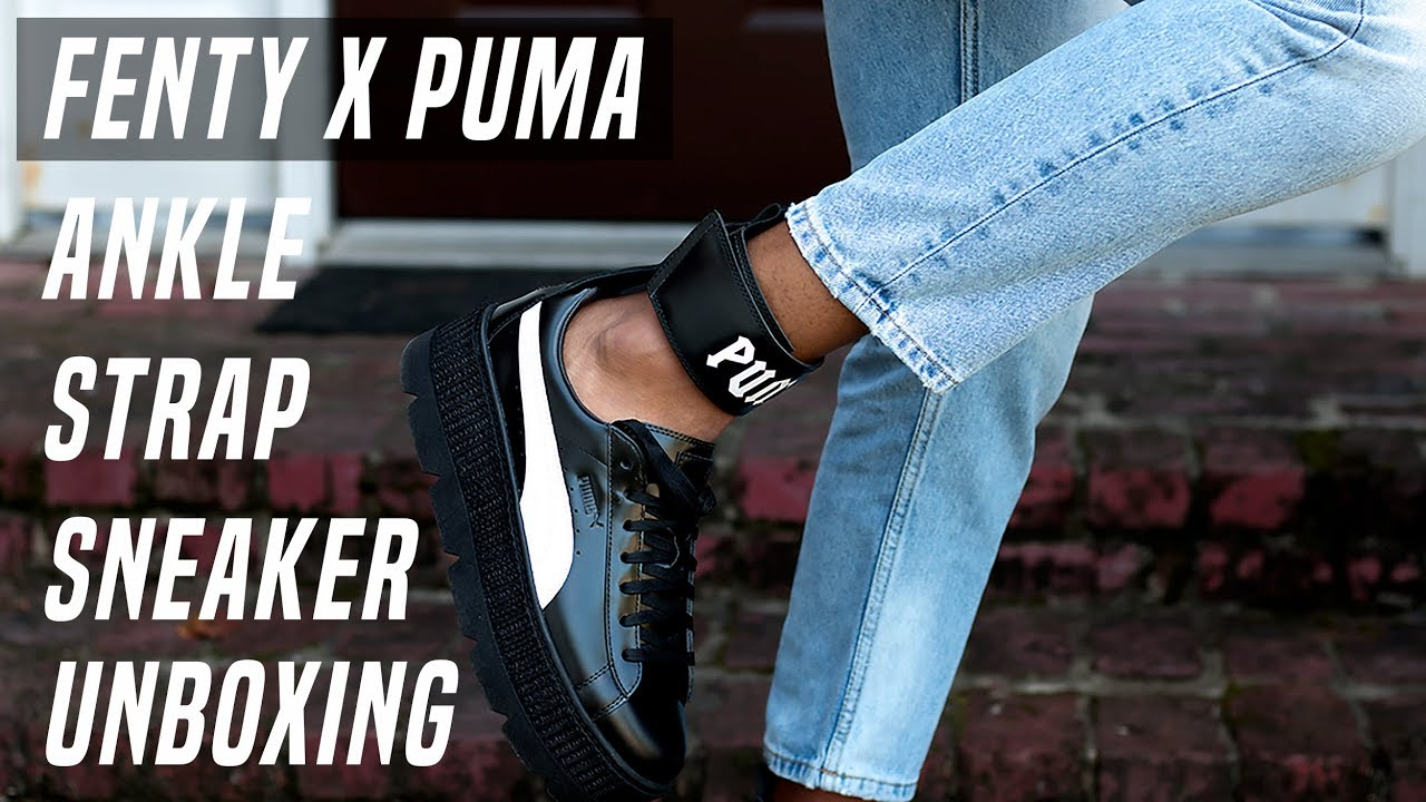 new styles 5c39d 84bef Fenty x Puma Ankle Strap Sneaker Unboxing | TheFashionNewb