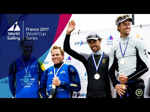 LIVE Sailing  World Cup Series Hyères   Sunday Medal Races