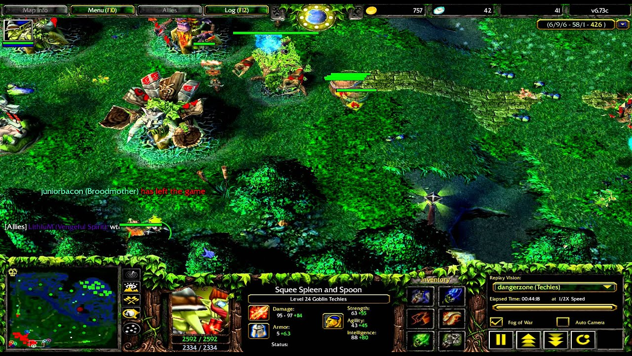 Techies DotA 1 Warcraft 3 YouTube