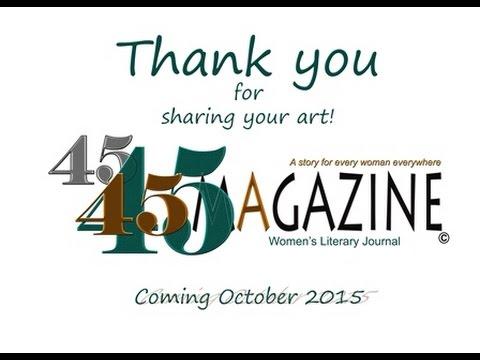 45 Magazine Women's Literary Journal Trailer
