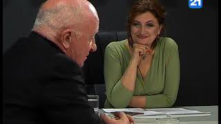C. Жантуан и О. Нантой в программе «ГЛАВНОЕ» 26.10.2018