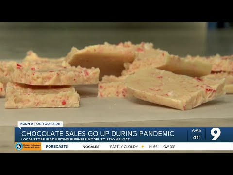 Chocolate sales making life a bit sweeter during pandemic