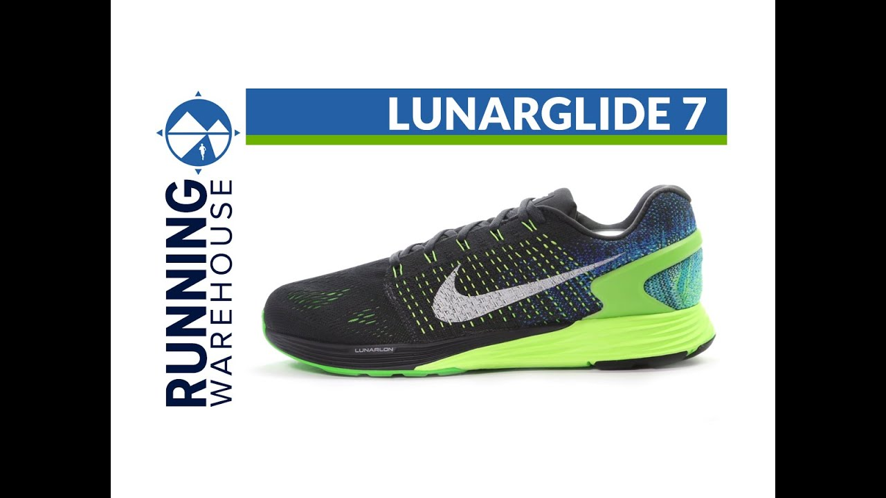 1326bba7d46e9b Nike LunarGlide 7 for men - YouTube