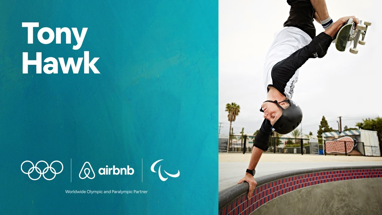 Learn New Tricks With Tony Hawk | Airbnb Olympian & Paralympian Online Experiences