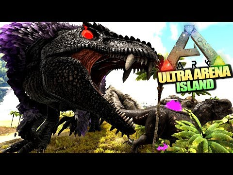 Böser Boss im Finale ◄► ARK ULTRA ARENA Island ( Speed PvP mit Community )