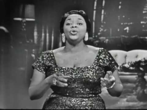 """Dinah Washington LIVE TV 1955 """"That's All I Ask Of You"""""""