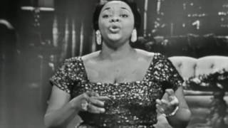 """Dinah Washington LIVE TV 1955 """"That's All I Want From You"""""""