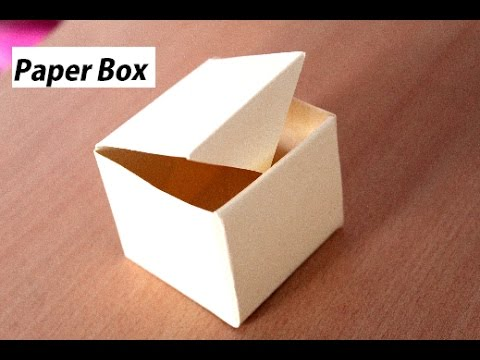 How to make a Paper Box (Easy) Origami Box - YouTube | 360x480