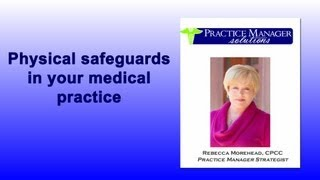 Physical Safeguards in your Security Risk Assessment