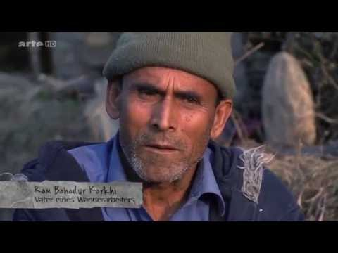 Nepalese migrant workers in Qatar &other countries - Working& living conditions. English subtitles