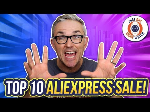 Top 10 AliExpress Sale Watches! August/September 2019